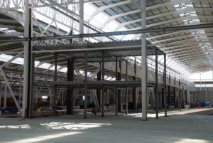 Estructura metálica nave industrial