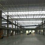 Nueva nave industrial de Cosentino, empresa líder en todo el ciclo de fabricación de material de construcción. Proyecto acometido por Ingenioo Studio